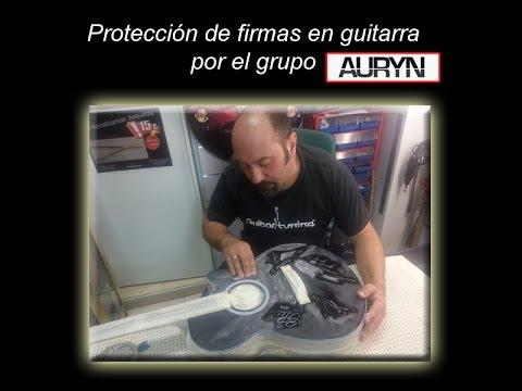 Guitar Tuning ®. Lacar firmas del grupo Auryn