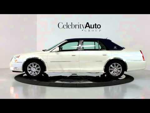2008 Cadillac Dts White Linen Dts Luxury Iii Pkg Blue