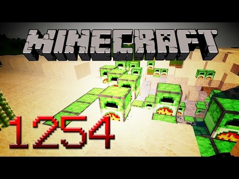Let's Play - MINECRAFT - Part #1254 [Deutsch/German]: Die Sache mit der Vorproduktion