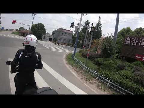 2018 summer shanghai(chongming island),china moto ride