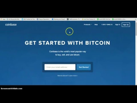 How to Sign Up For Coinbase Get Funded and Withdraw- Basic Bitcoin Training Video