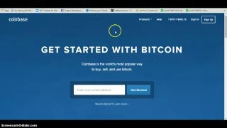how to sign up for coinbase get funded and withdraw basic bitcoin training video