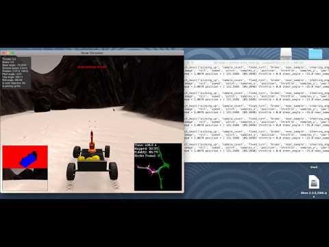 Udacity Robotics Nanodegree - 1st Project - Autonomous Rover