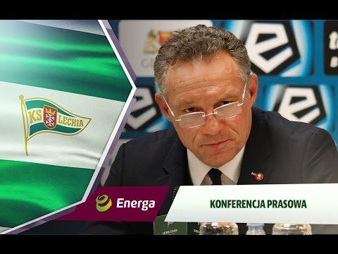 Konferencja prasowa po meczu Lechia Gdańsk - Legia Warszawa