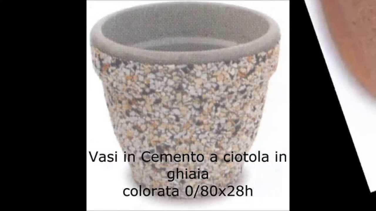 vasi in cemento fioriere in cemento