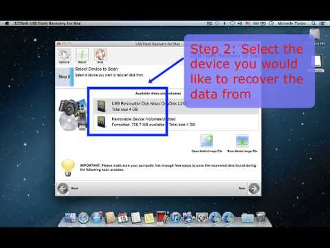 how to transfer files from flash drive to mac