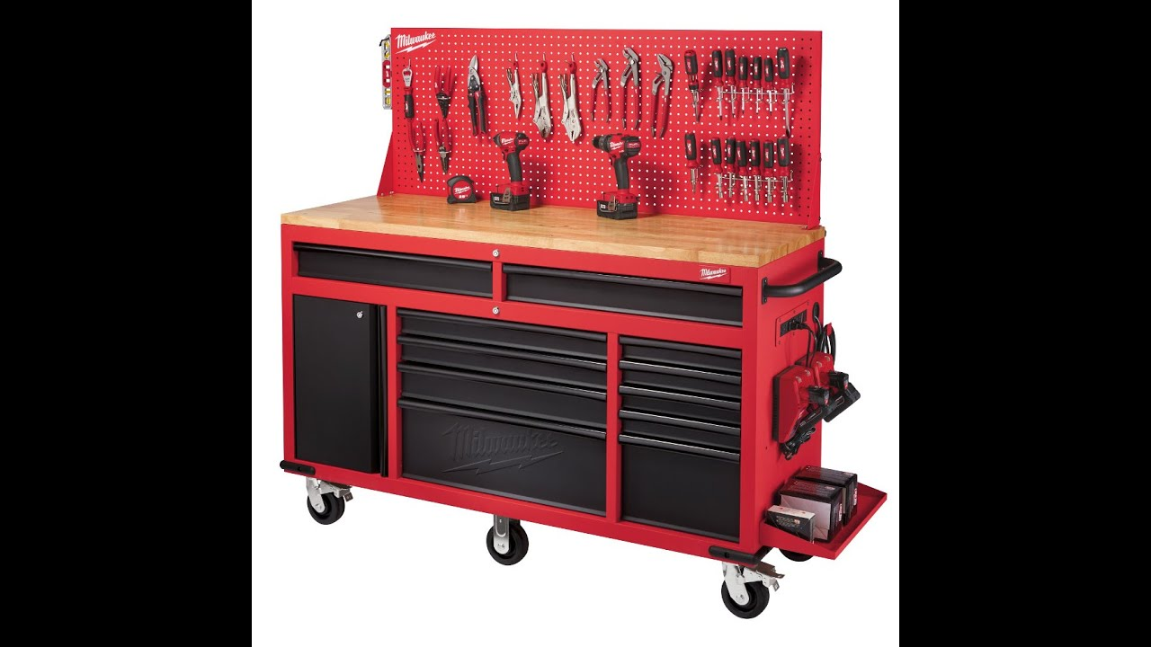 Merveilleux Milwaukee 60 Inch Rolling Work Station Review   YouTube