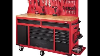 Milwaukee 60 inch Rolling Work Station Review