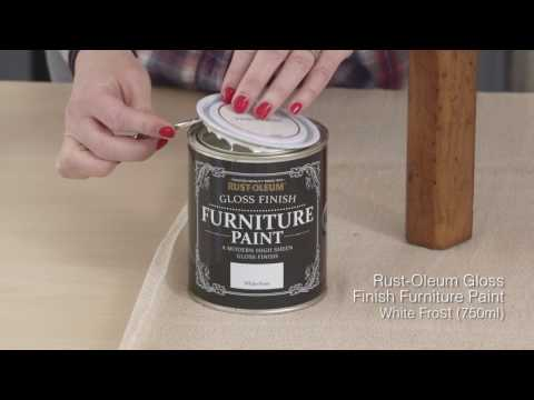 How to use Rust-Oleum Gloss Finish Furniture Paint