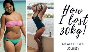 My Weight loss journey | How I lost 30kg / 66lbs