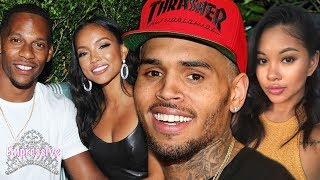 Gambar cover Chris Brown is still stalking his EX Karrueche...while his new girl is pregnant!