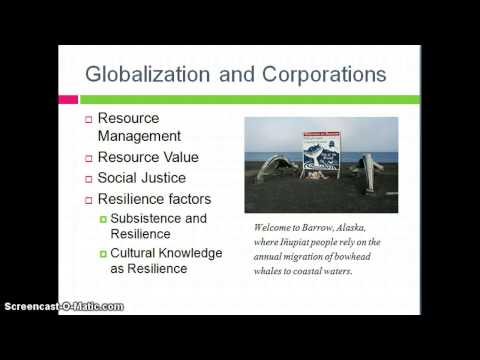 Social Justice for Inupiat People