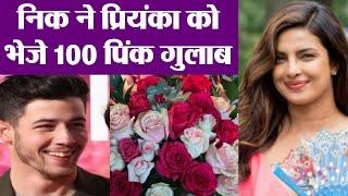 Priyanka Chopra gets 100 roses from Nick Jonas for Sky Is Pink   FilmiBeat