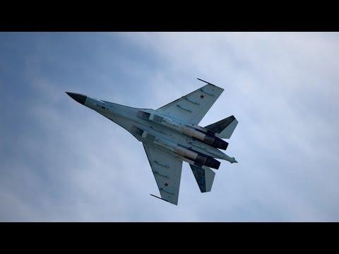 Video: Unique Sukhoi Su-35 'UFO' fighter rocks Paris Air Show