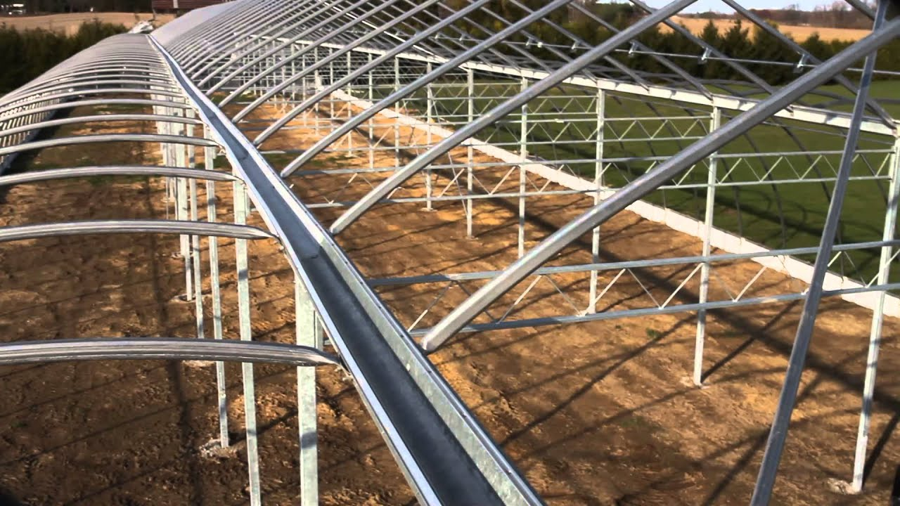 Building Decloet Gutter Connect Greenhouse Youtube