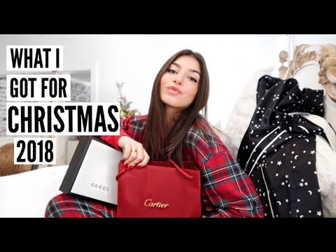 (LUXURY) WHAT I GOT FOR CHRISTMAS 2018