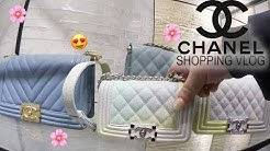 [Best Of] CHANEL LUXURY SHOPPING VLOG ♡ Chanel Classics & Chanel Spring Colors