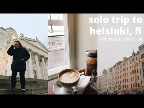 solo trip to HELSINKI / studying abroad