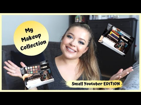 MY MAKEUP COLLECTION 2019 *small youtuber edition* thumbnail