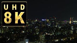 Japan 8K映像 札幌夜景Timelapse