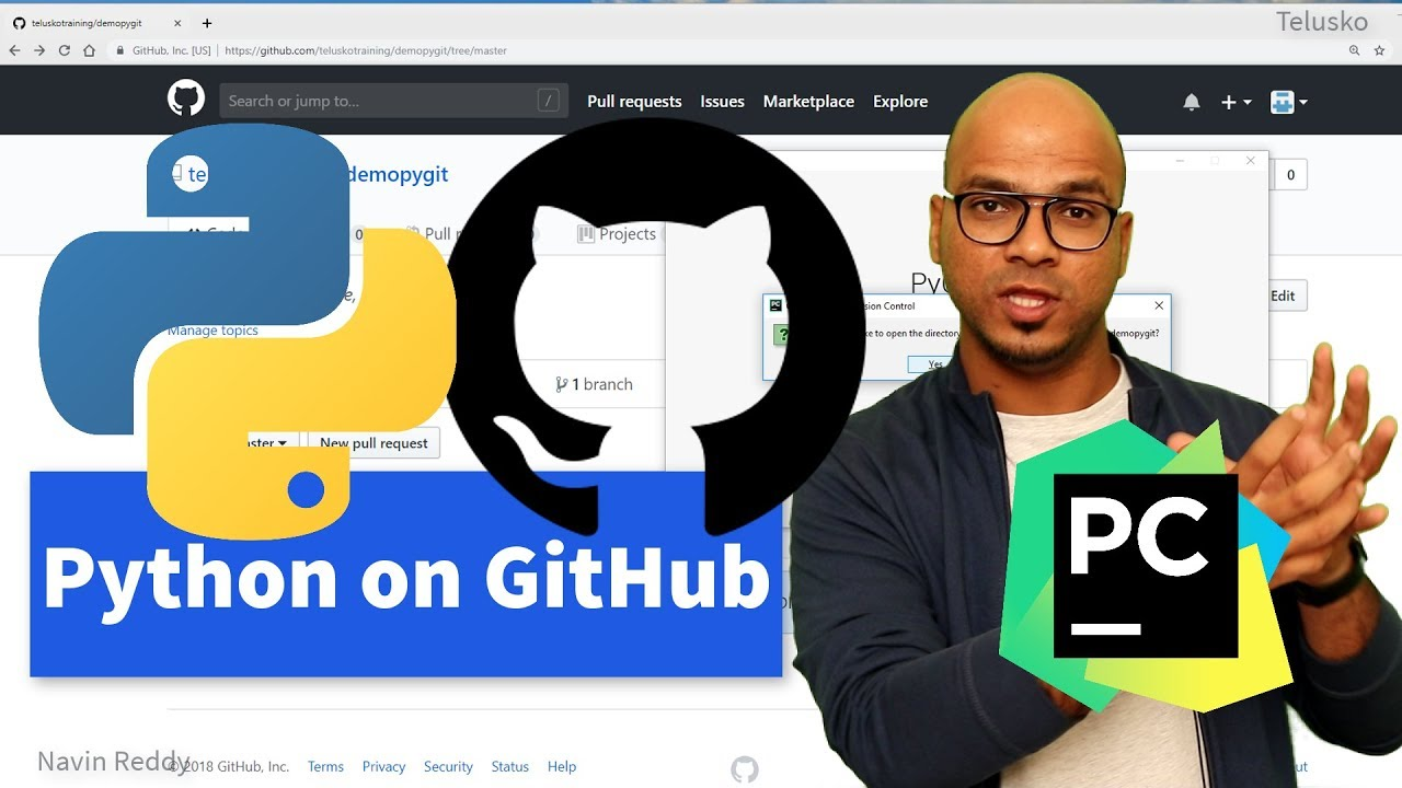 #74 Python | Git | PyCharm | GitHub
