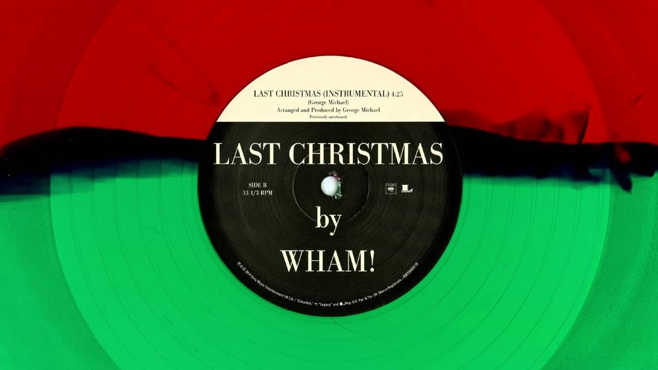 Wham! - Last Christmas (Instrumental) - YouTube