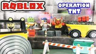 Operation TNT Toy Set Unboxing - Action Series 3 Toy Pack - Roblox Toys