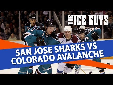 San Jose Sharks vs Colorado Avalanche | The Ice Guys | NHL Picks