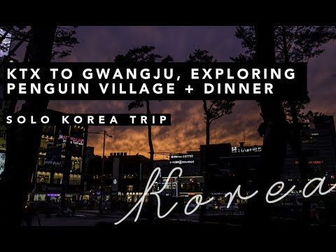 Korea Solo Trip: Arriving in Gwangju // Part 1