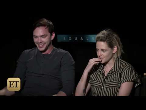 Kristen Stewart and Nicholas Hoult Talk about Relationships