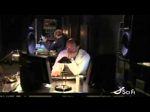 Stargate SG-1 Dr Lee and Carter testing frequencies with Heavy Metal