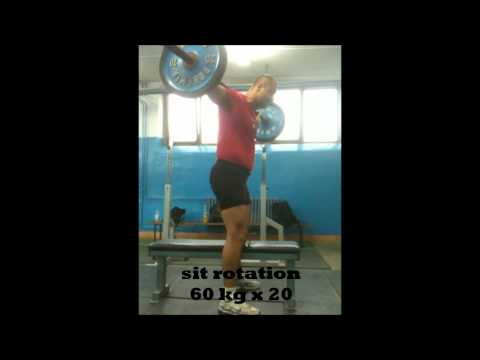 Roland Varga  Discus thrower:  Specific Strength Training for the  Discus Throw   - Part 1 -