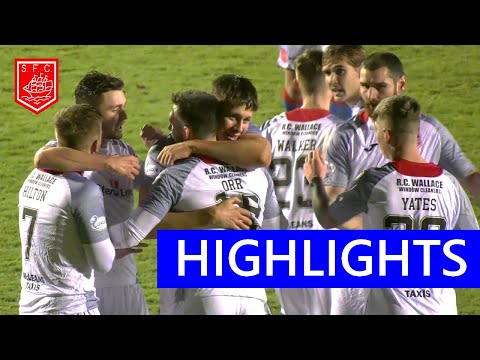 Brechin Stranraer Goals And Highlights