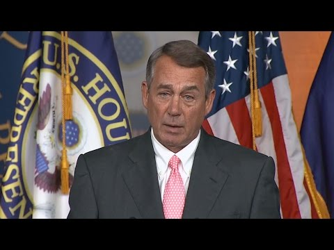 Boehner: Serving In Congress Has Been An Honor