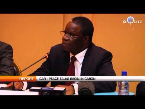 CAR: Peace talks begin in Gabon