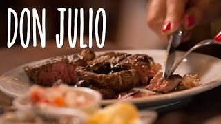 Don Julio: A Meat Lover