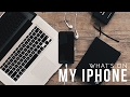 What's On My iPhone 7 Plus | Minimalist Edition