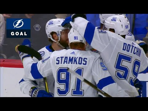 Lightning score four goals in just over four minutes against Avalanche