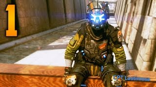 Titanfall 2 Single Player Gameplay Walkthrough - Part 1 - PILOT TRAINING