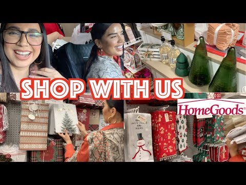 CHRISTMAS DECOR SHOP WITH US HOME GOODS, TARGET, JOANNES