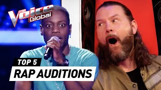 Download lagu BEST RAP Blind Auditions in The Voice