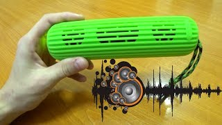 ОБЗОР Microlab D21  - Портативная Беспроводная Блютуз колонка. Review Microlab Bluetooth Speaker