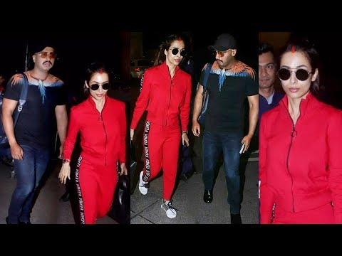 Malaika Arora Wid Husband Arjun Kapoor Returned From H0NEYMOON After Their Secret Wedding Mp3