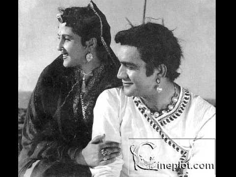 Tum meri zindagi mein tufan ban ke aaye - Shagufa -1953 - Lata M. -C Ramchander