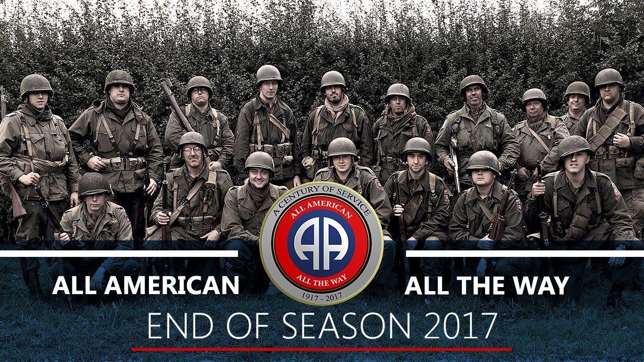End of Season 2017 - 82nd Airborne 505th PIR Reenactment - Normandy /  Market Garden / Bulge