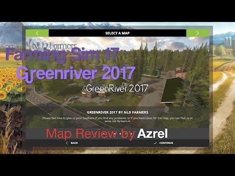 FS17 Greenriver 2017 - Map Walkthrough