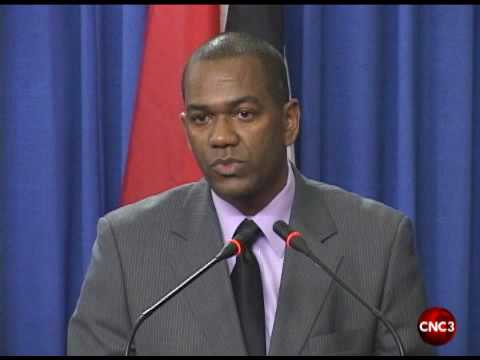 Information Minister clarifies Government's position on Calder Hart.flv
