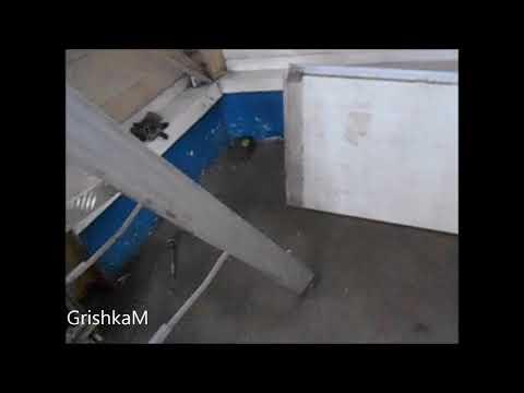 Если Вам разбили ворота гаража   Часть- 1