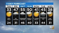 New York Weather: CBS2 12/11 Evening Forecast at 5PM