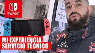 MI EXPERIENCIA CON EL Servicio Técnico de Nintendo TRAS ESTROPEARSE MI Nintendo Switch